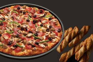 Pan Crust Round Table.Fansrave Round Table Pizza