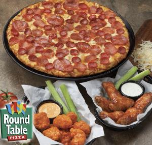 Web coupons round table pizza